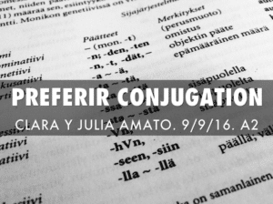Preferir Conjugation Full Explanation